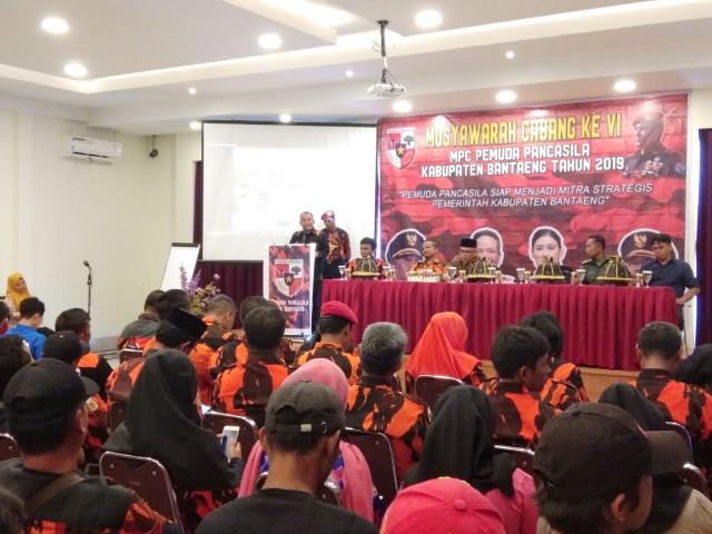 MPC Pemuda Pancasila Bantaeng Gelar Muscab VI.