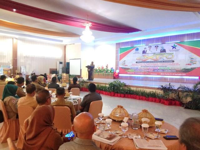 Pembukaan Perpustakan EXPO Bantaeng.