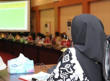 Pemaparan Ketua Forum Kabupaten Sehat.