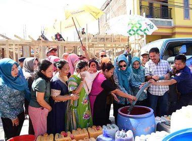 Bantuan Air PKK SulSel.