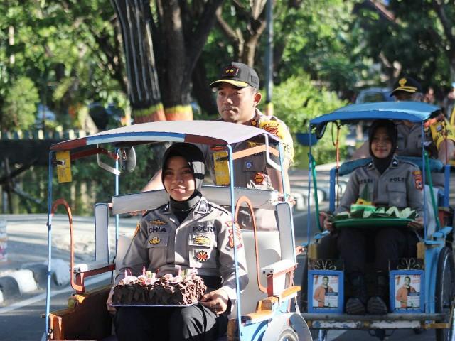 HUT TNI 74 di Kodim 1410 Bantaeng.
