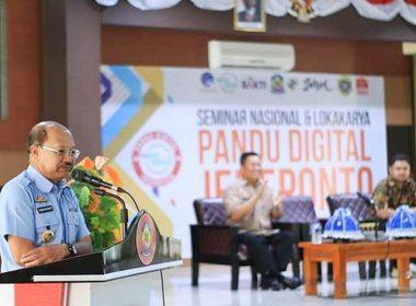 Pembukaan Seminar Nasional dan Lokakarya Pandu Digital Indonesia.