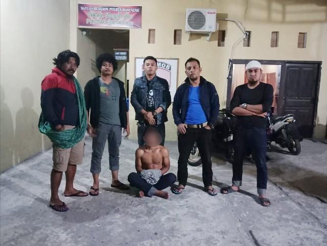 Penangkapan pelaku curanmor Bantaeng.