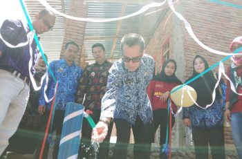 Uji fungsi PAMSIMAS Desa Pattallassang Bantaeng.