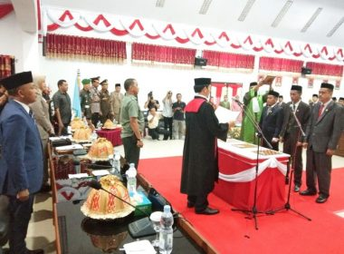 Defenitif Pimpinan DPRD Bantaeng.