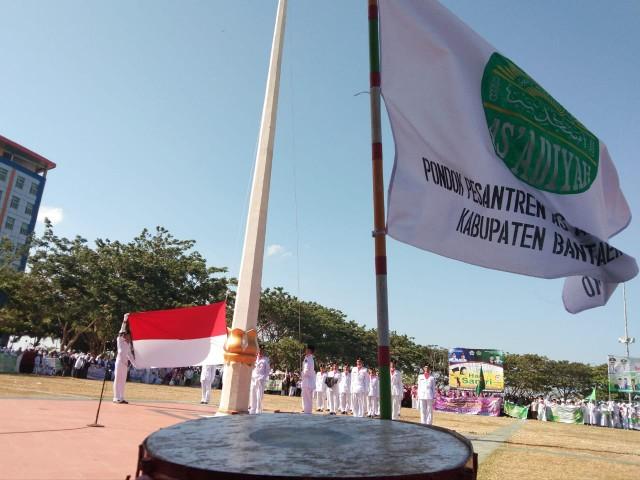 Peringatan Hari Santri Nasional 2019 di Bantaeng.