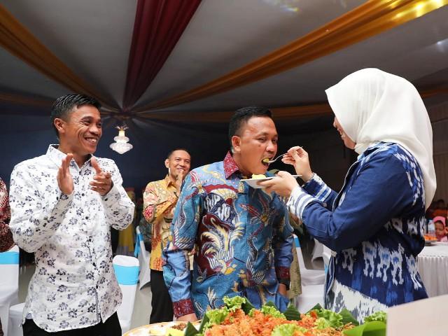 Malam Ramah Tamah di Gedung Balai Kartini Bantaeng.