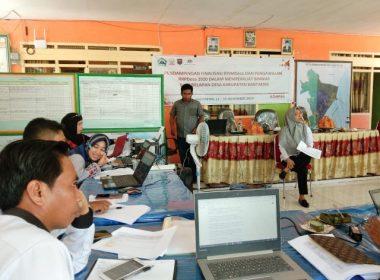 Proses pendampingan finalisasi RPJMDes Bonto Jai oleh KOMPAK.