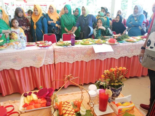 Kegiatan Lomba Memasak HKN 55 tingkat Kabupaten Bantaeng.