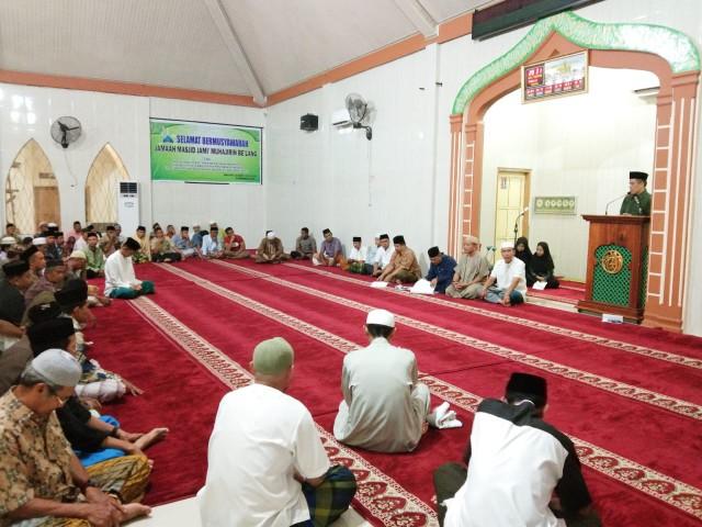 Kegiatan Musyawarah Masjid Jami' Muhajirin Be'lang.