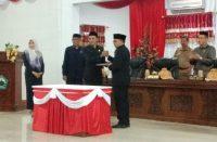 Rapat Paripurna DPRD Bantaeng.