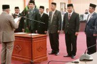 Empat pejabat lingkup Pemkab Bantaeng dilantik.