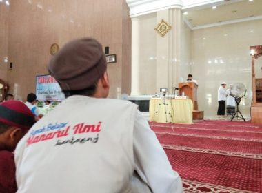 Gelaran Tabligh Akbar di Masjid Agung Syekh Abdul Gani Bantaeng.