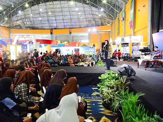 Perhelatan Talk Show SulSel EXPO 2019.