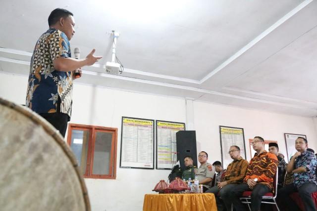 Launching Desa Sadar Pengawasan dan Anti Politik Uang.