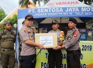 Peninjauan Pos Pengamanan Ops Lilin 2019.