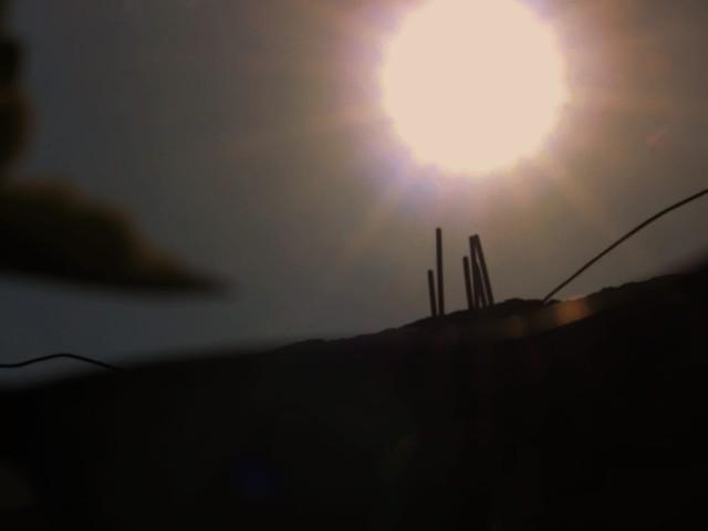 Obyek foto Gerhana Matahari Cincin.