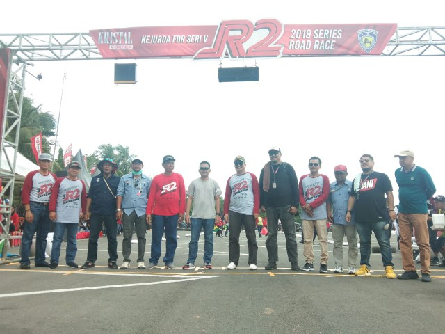 Event Kejurda Road Race.