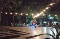 Taman Coffee Night Park of Butta Toa Bantaeng.