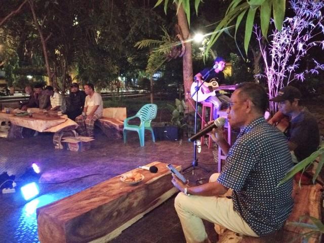 Taman Coffee Night Park of Butta Toa Bantaeng.