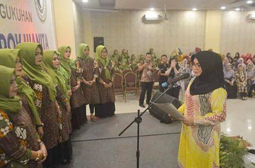 Pengukuhan Kelompok Wanita Indo' Pinrang.