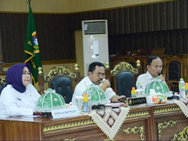 Pelaksanaan Monev Triwulan IV Tahun 2019 Kabupaten Majene.