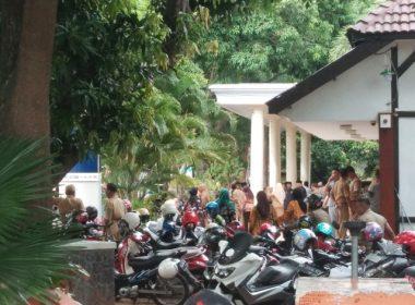 Kegiatan pelantikan pejabat Bantaeng.