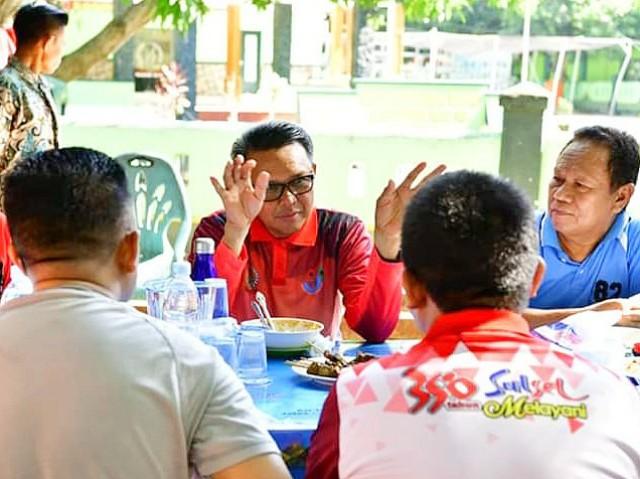 Kunjungan Nurdin Abdullah ke Bantaeng.