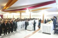 Pengambilan Sumpah Ratusan Pejabat Bantaeng.
