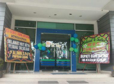 HUT Bank SulSelBar ke-59 di Kantor Cabang Bantaeng.