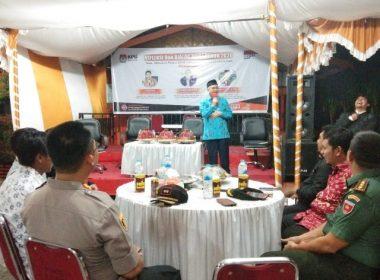Pelaksanaan Refleksi dan Dialog oleh KPU Bantaeng.