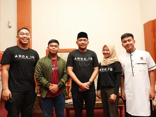 Dukungan Bupati Bantaeng kepada Anoa.id.