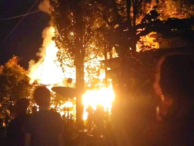Kejadian kebakaran di Talle, Tompobulu.