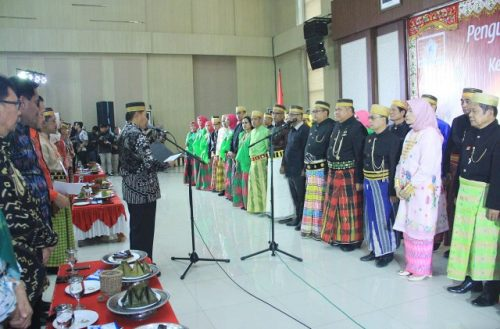 Seremonial Pelantikan BPW KKSS Jatim di Kota Batu.