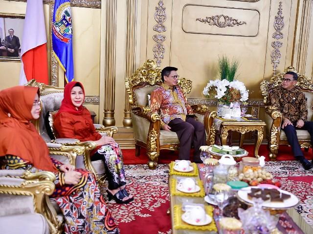 Kunjungan Kerja Ketua Dekranasda KalTara.