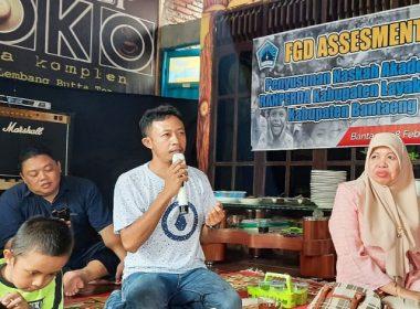 Penyusunan Naskah Akademik Ranperda Kabupaten Layak Anak Bantaeng.