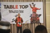 Gelaran Table Top di Hotel Aster, Kota Batu, Jatim.