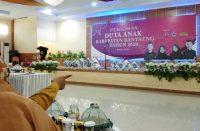 Pemilihan Duta Anak Bantaeng 2020.