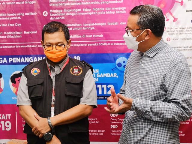 Evaluasi PSBB Makassar.