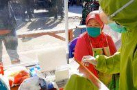 Pelaksanaan Rapid Test Massal di Makassar.