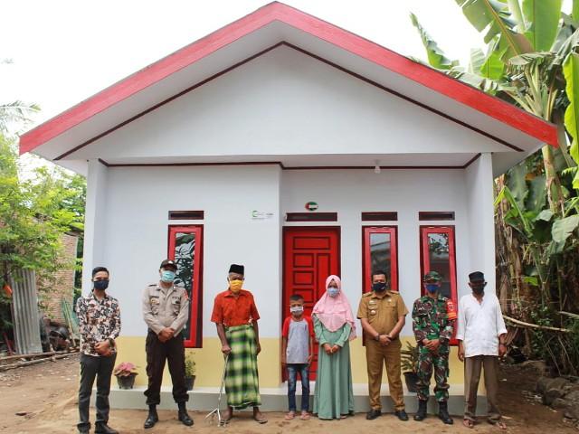 Penyerahan Rumah Layak Huni AMCF.