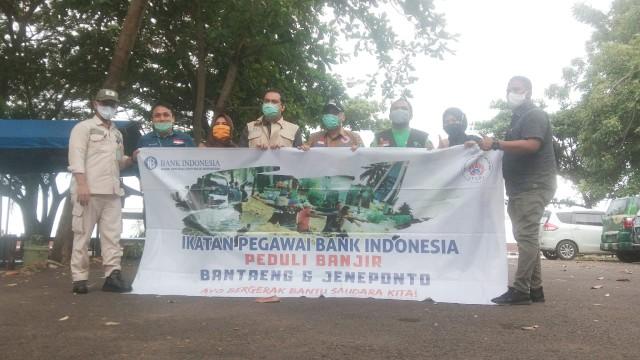 Bantuan Bank Indonesia untuk banjir Bantaeng.