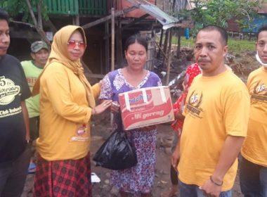 Bantuan banjir BCI Makassar.