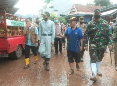 Bantuan dana banjir Bantaeng.