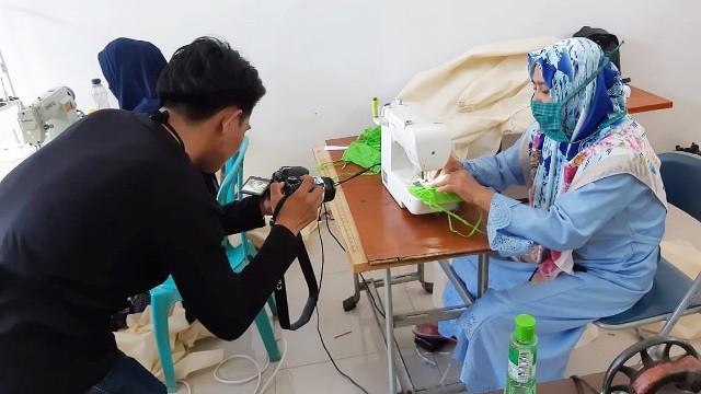 Pengiriman video Lomba Inovasi COVID-19 Bantaeng.