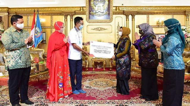 Bantuan CSR PT. Pertamina untuk UMKM.