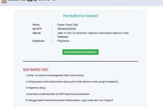 Pendaftaran Rapid Test Gratis PKK SulSel.