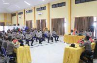 Pembukaan Latihan Pra Operasi Kepolisian oleh Polres Bantaeng.