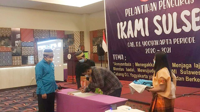 IKAMI SulSel Cabang DIY Dilantik.