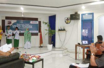 Proses penjurian Lomba Video Pendek Bawaslu Bantaeng.